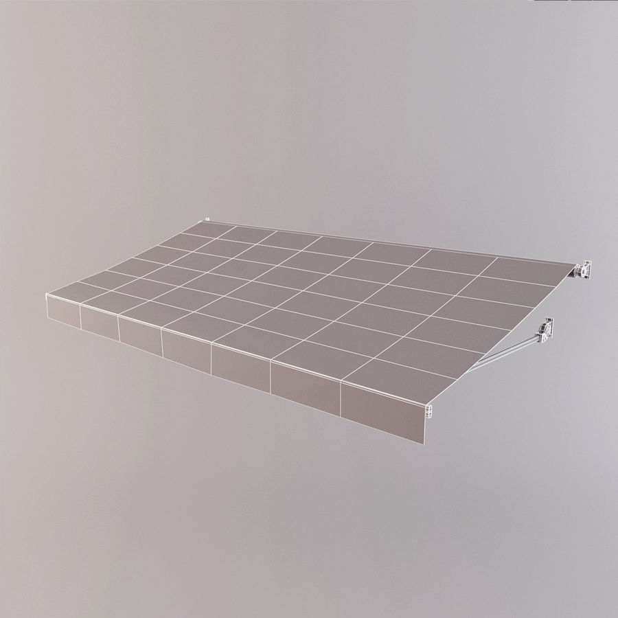 Awning royalty-free 3d model - Preview no. 9