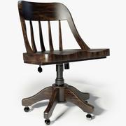 Реставрация оборудования Keating Desk Chair 3d model
