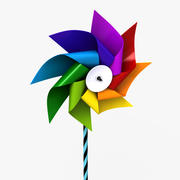 Pinwheel 3 3d model