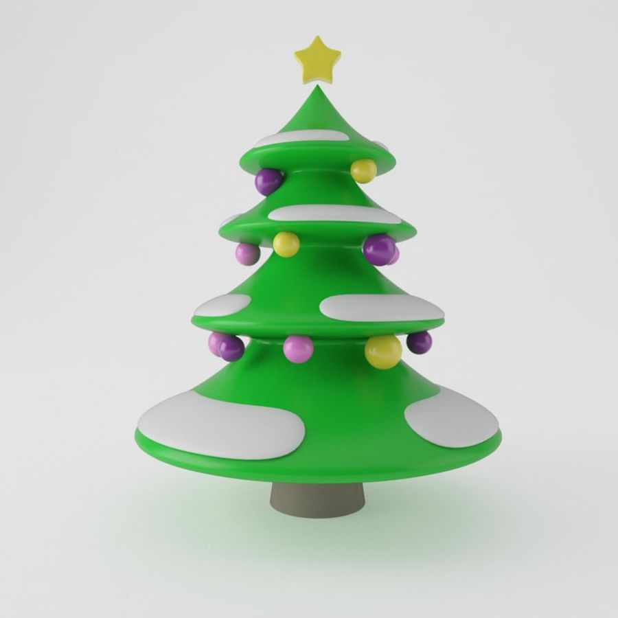 Christmas Tree royalty-free 3d model - Preview no. 1