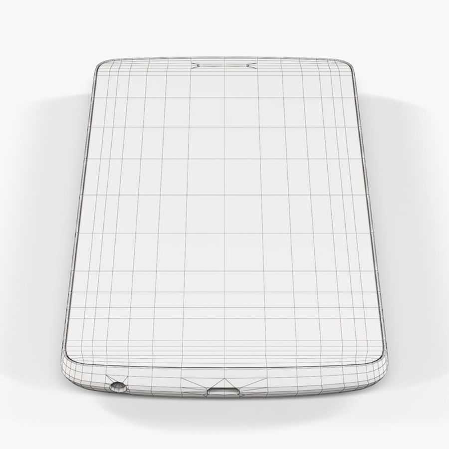 LG G3スタイラスD690タイタンブラック royalty-free 3d model - Preview no. 10