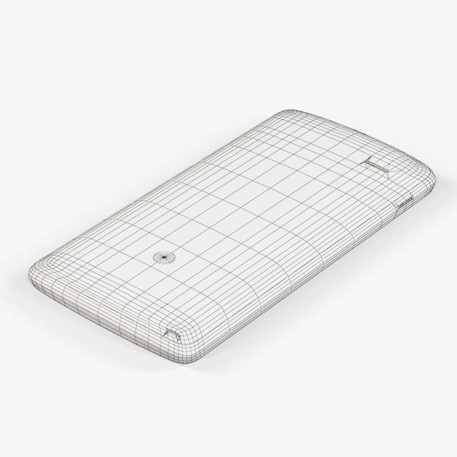LG G3スタイラスD690タイタンブラック royalty-free 3d model - Preview no. 11