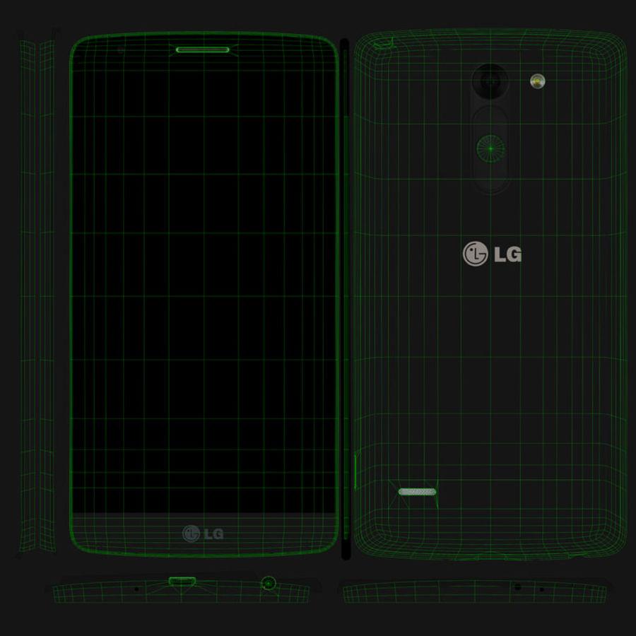 LG G3スタイラスD690タイタンブラック royalty-free 3d model - Preview no. 13