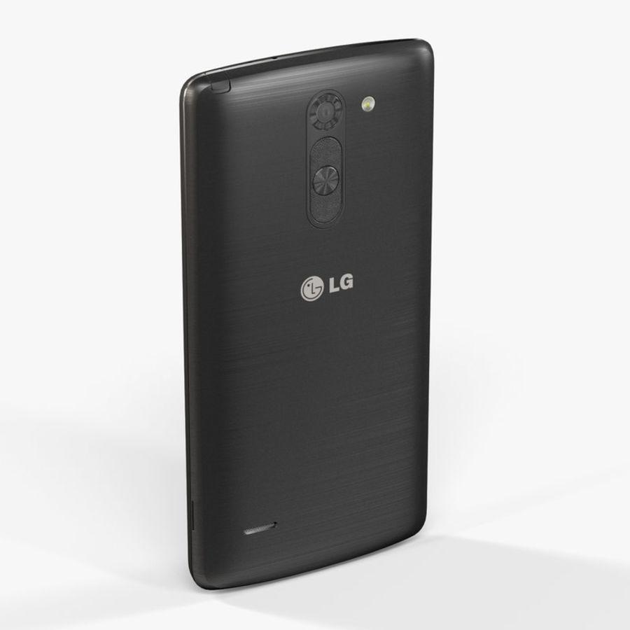 LG G3スタイラスD690タイタンブラック royalty-free 3d model - Preview no. 5