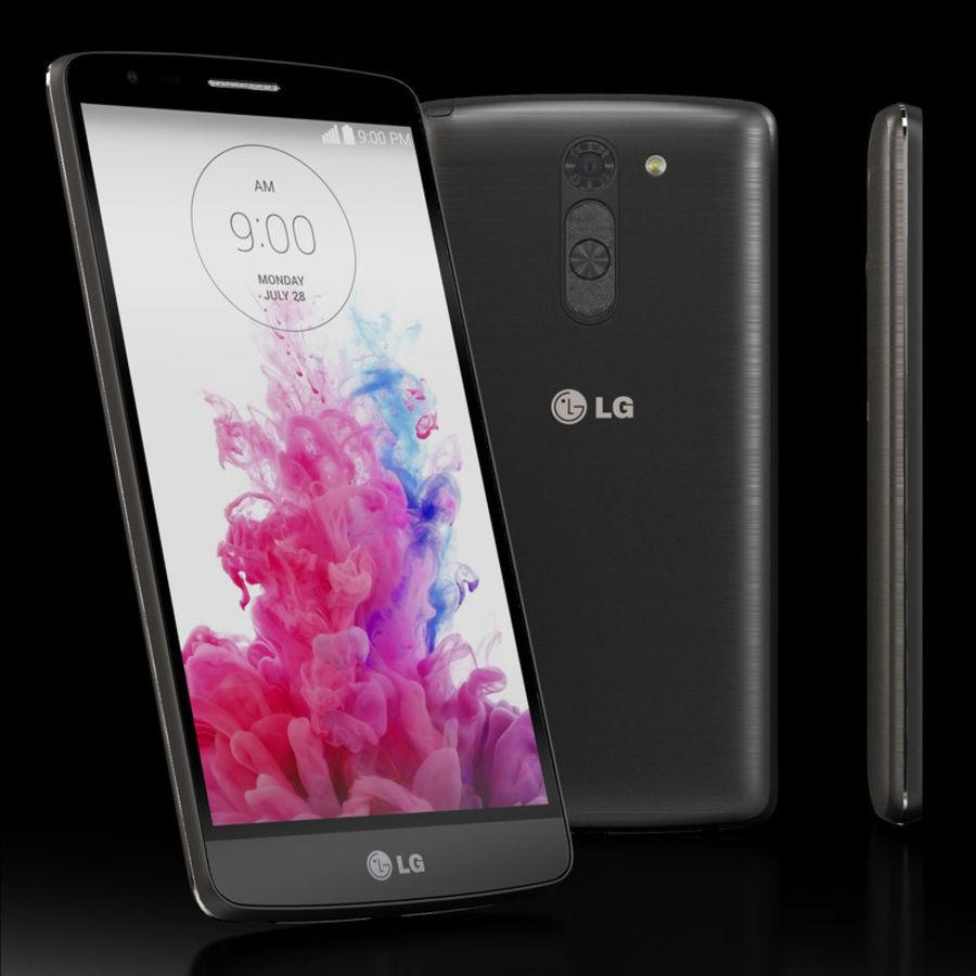 LG G3スタイラスD690タイタンブラック royalty-free 3d model - Preview no. 2