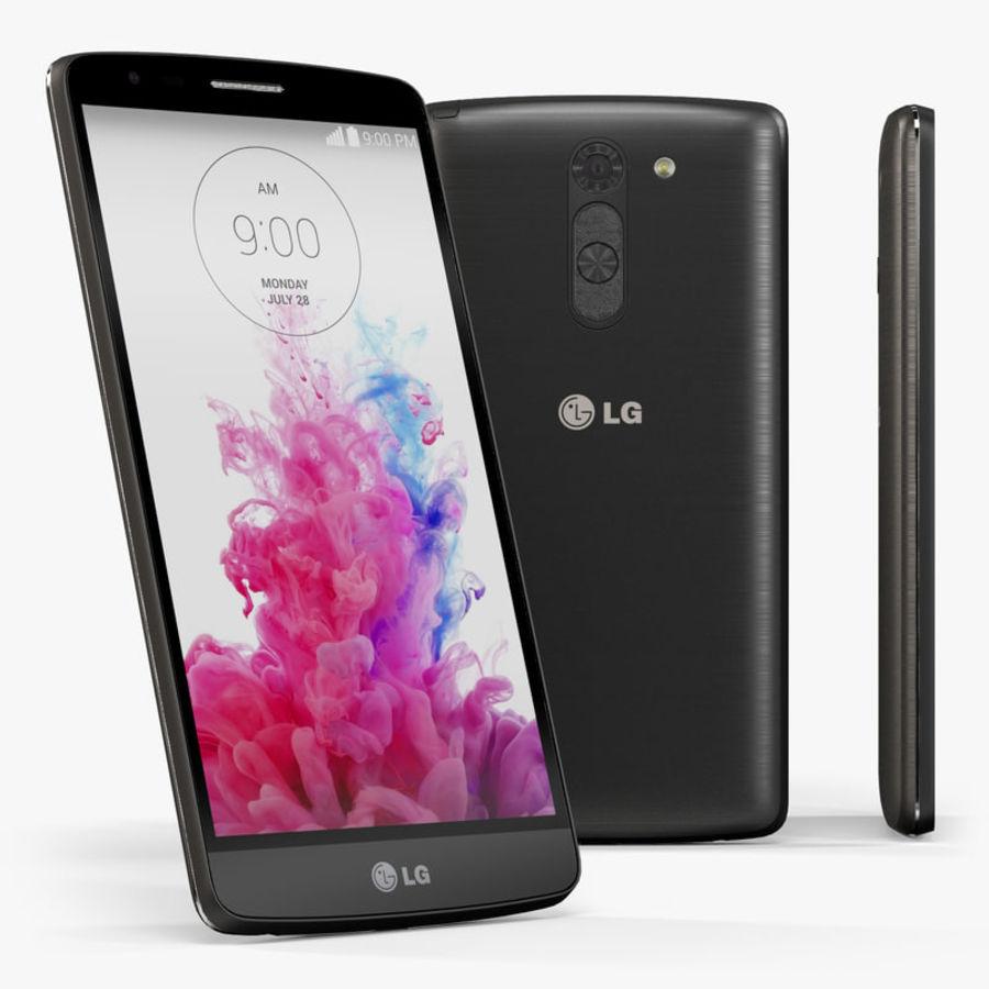 LG G3スタイラスD690タイタンブラック royalty-free 3d model - Preview no. 1