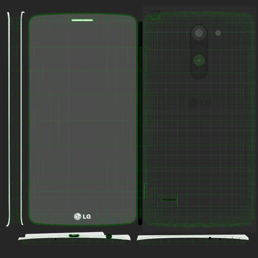 LG G3スタイラスD690タイタンブラック royalty-free 3d model - Preview no. 16