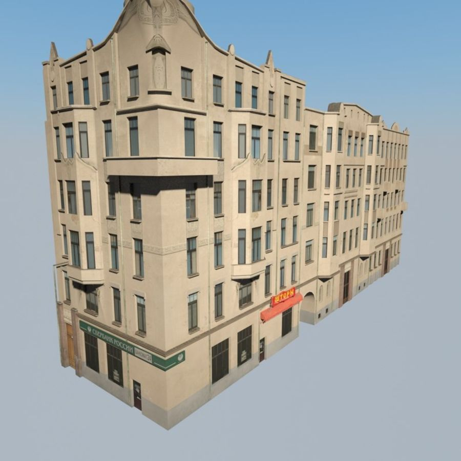 Building royalty-free 3d model - Preview no. 2