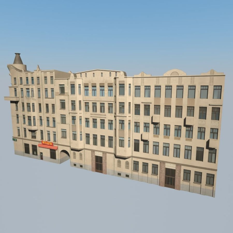 Building royalty-free 3d model - Preview no. 1