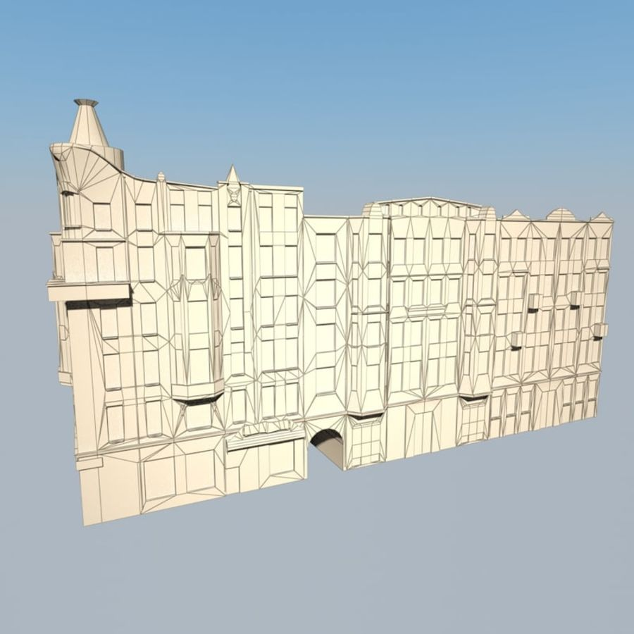 Building royalty-free 3d model - Preview no. 5