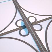 Road Junction 2 Octane 3d model