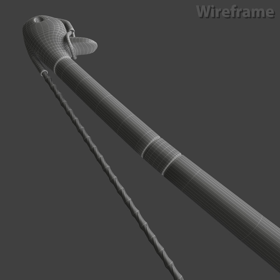 Assyrian Bow Arrows royalty-free 3d model - Preview no. 9