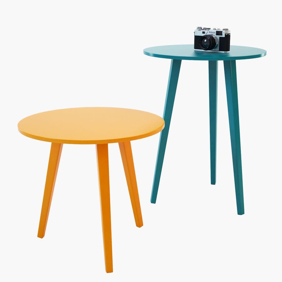 Novamobili Trio Coffee Table 3d Model 19 Obj 3ds Max Free3d