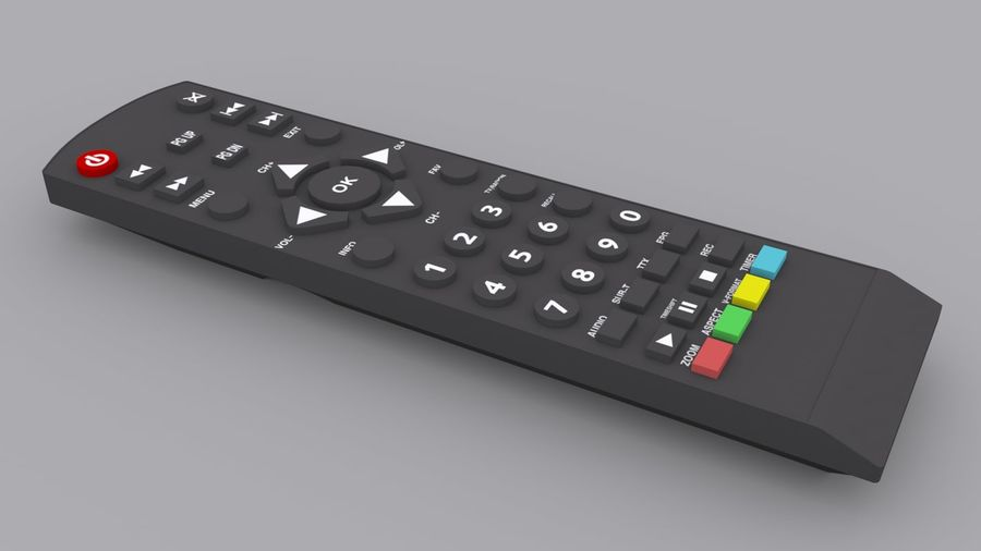 Digital Control royalty-free 3d model - Preview no. 6