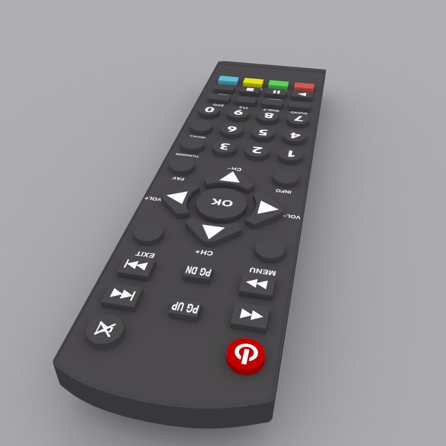 Digital Control royalty-free 3d model - Preview no. 2