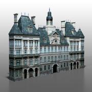 Casa francesa v2 3d model