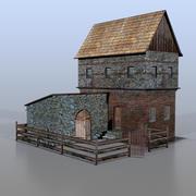 German house v22 3d model