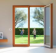 French Double Door - Double Door Window 3d model
