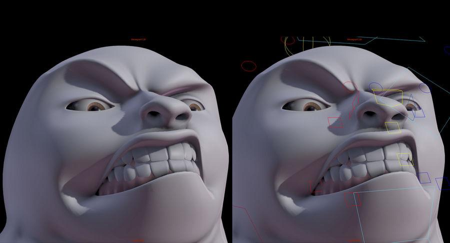 Animowane postacie z kreskówek royalty-free 3d model - Preview no. 9