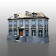 Francuski dom v11 3d model