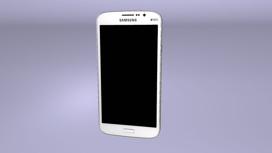 Samsung Galaxy Mega GTI-9152 royalty-free 3d model - Preview no. 11