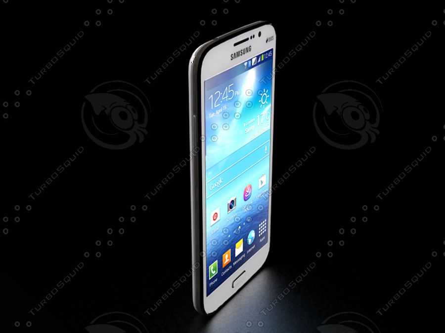 Samsung Galaxy Mega GTI-9152 royalty-free 3d model - Preview no. 1