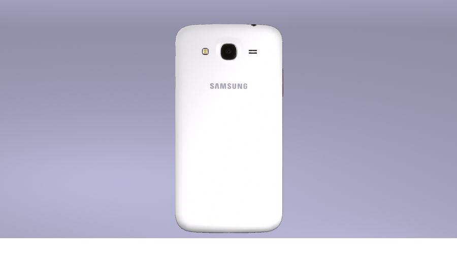 Samsung Galaxy Mega GTI-9152 royalty-free 3d model - Preview no. 10