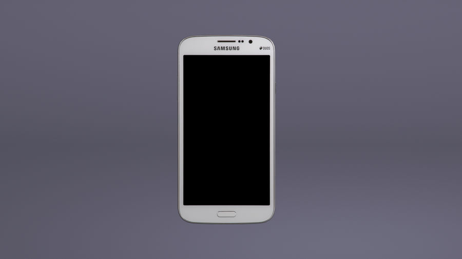 Samsung Galaxy Mega GTI-9152 royalty-free 3d model - Preview no. 9