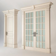 Classic Interior Doors 3d model