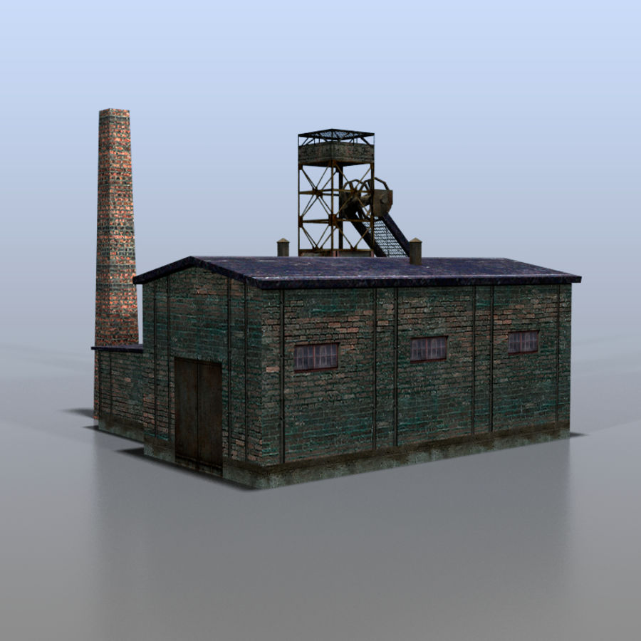 Coal mine royalty-free 3d model - Preview no. 5