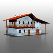 Spanish house v1 3d model