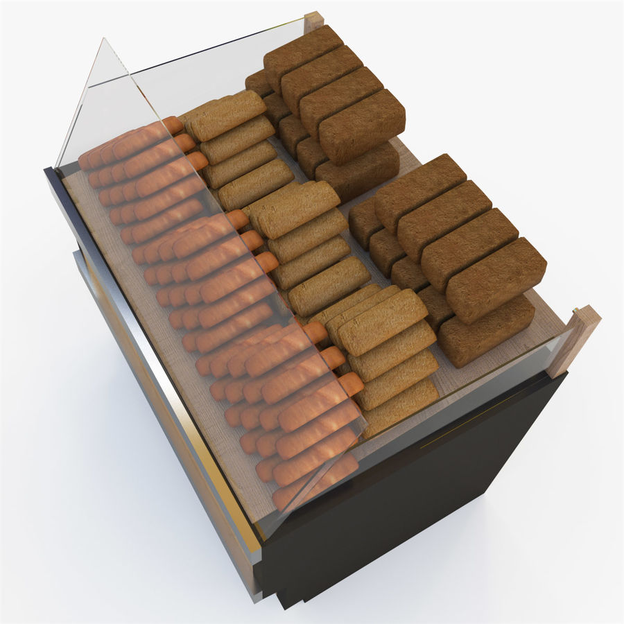 Bread Rack royalty-free 3d model - Preview no. 12