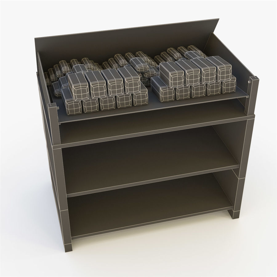 Bread Rack royalty-free 3d model - Preview no. 22