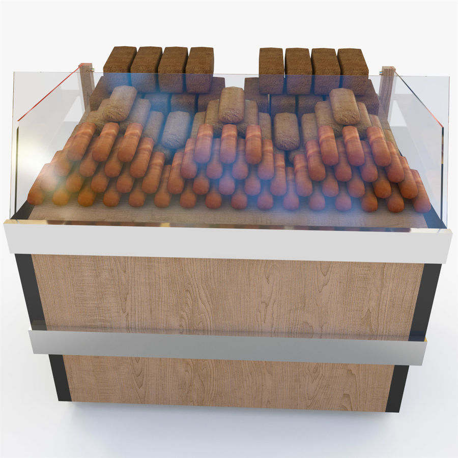Bread Rack royalty-free 3d model - Preview no. 2