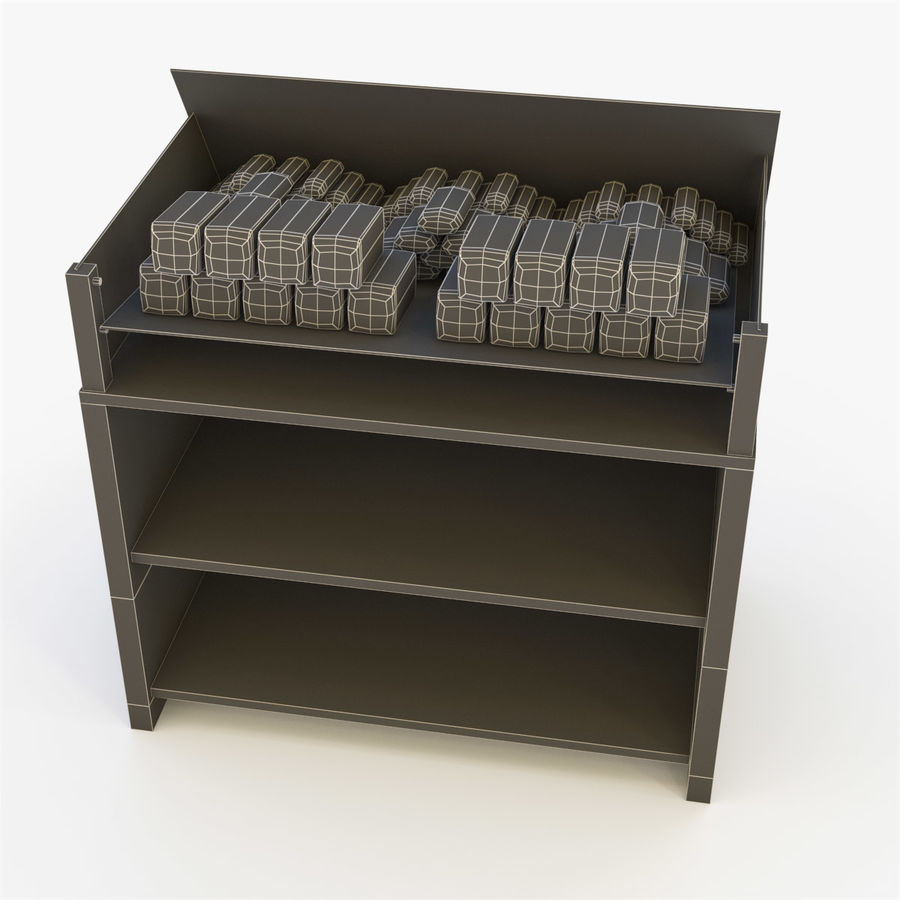 Bread Rack royalty-free 3d model - Preview no. 21