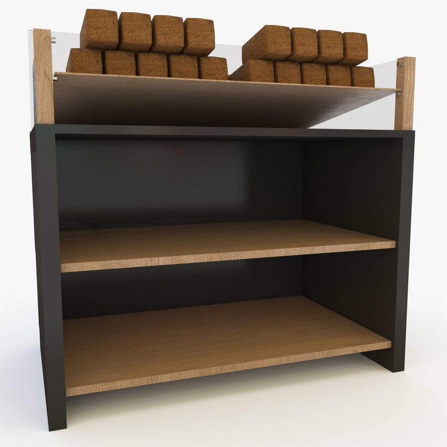 Bread Rack royalty-free 3d model - Preview no. 9