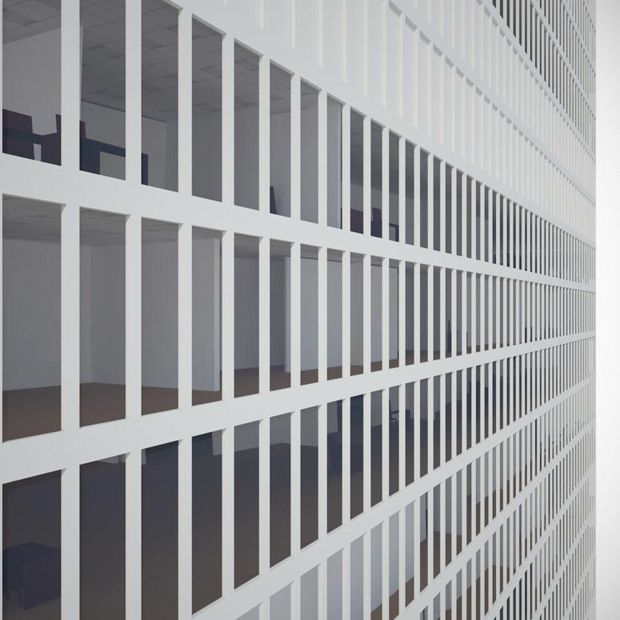 skyscraper glass royalty-free 3d model - Preview no. 3