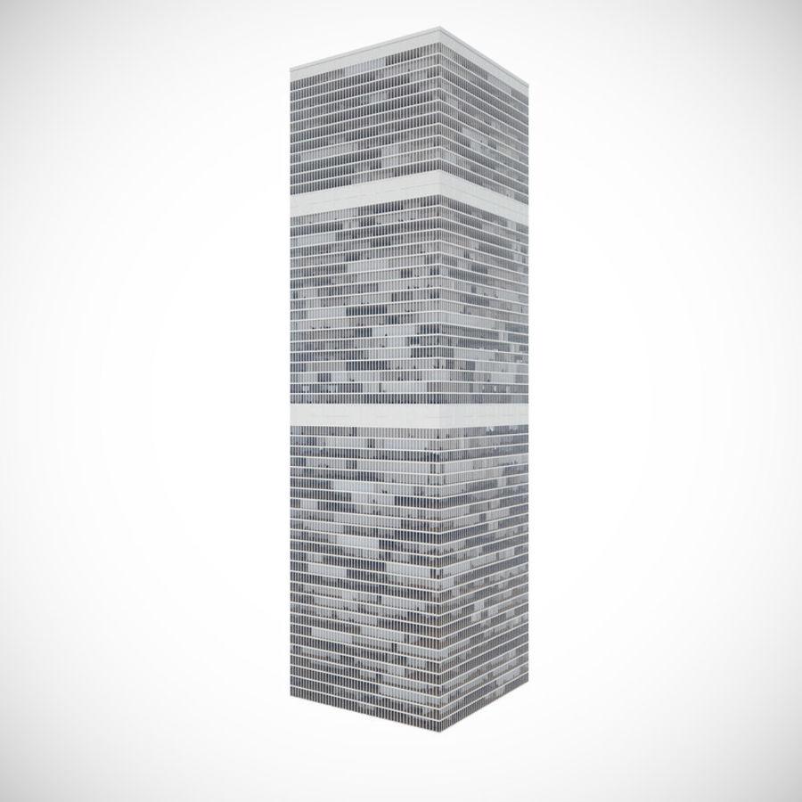 skyscraper glass royalty-free 3d model - Preview no. 1