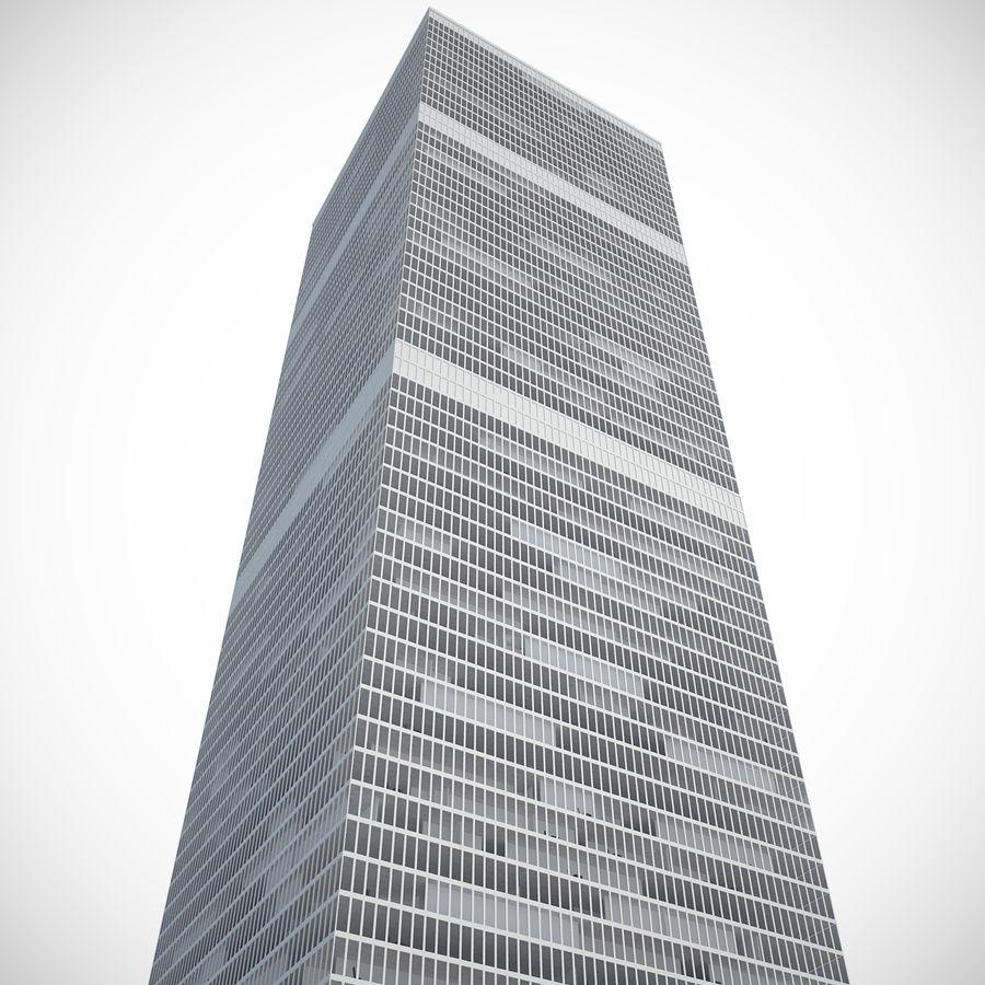 skyscraper glass royalty-free 3d model - Preview no. 6