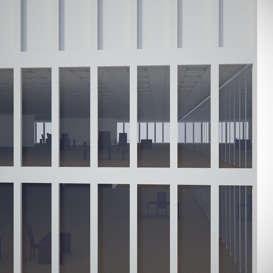 skyscraper glass royalty-free 3d model - Preview no. 4