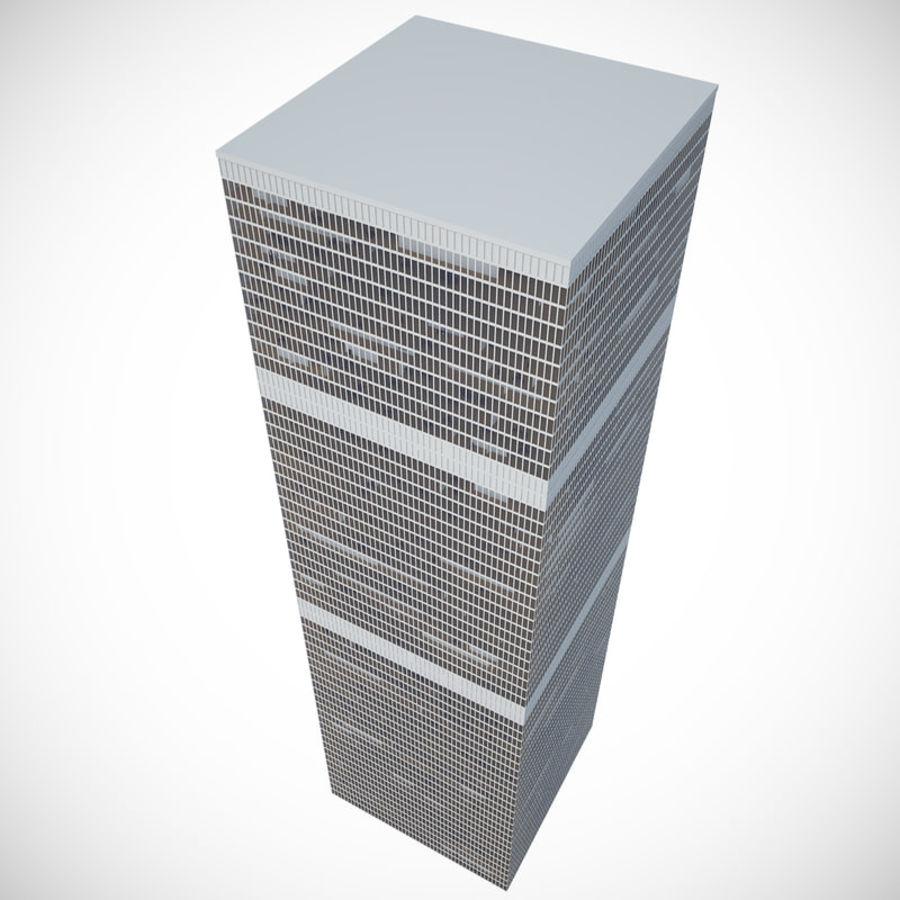 skyscraper glass royalty-free 3d model - Preview no. 5