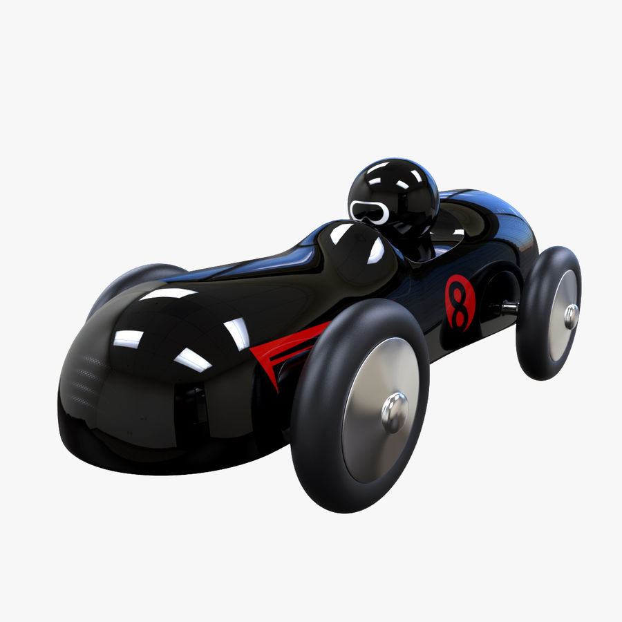 Carro de brinquedo royalty-free 3d model - Preview no. 1