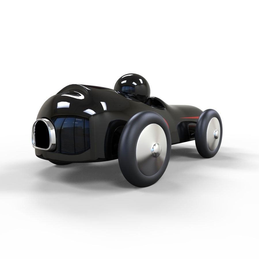 Carro de brinquedo royalty-free 3d model - Preview no. 6