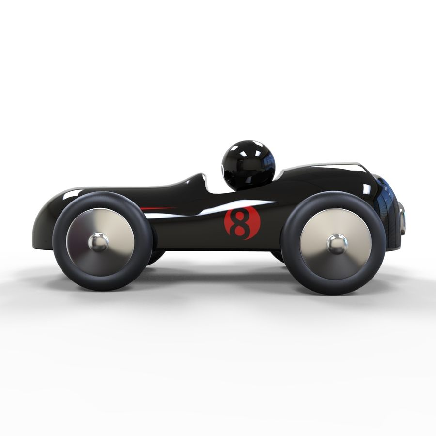 Carro de brinquedo royalty-free 3d model - Preview no. 3