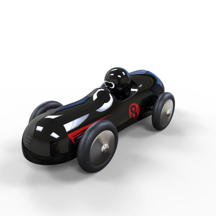 Carro de brinquedo royalty-free 3d model - Preview no. 4