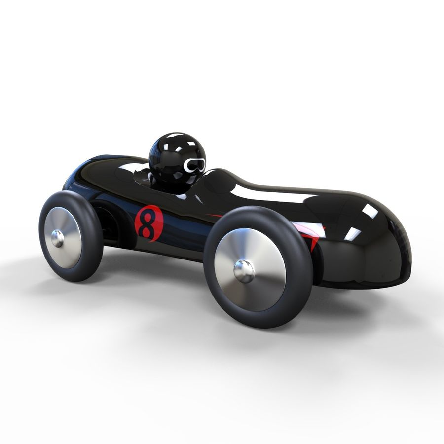 Carro de brinquedo royalty-free 3d model - Preview no. 5