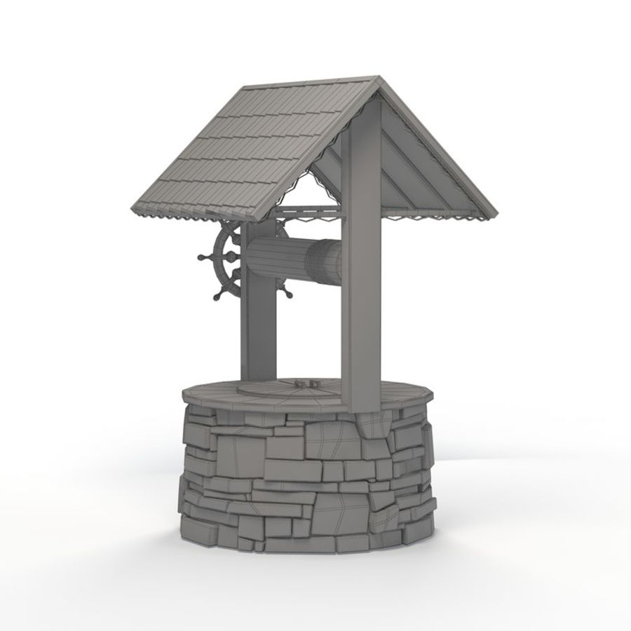 Water well magic royalty-free 3d model - Preview no. 8