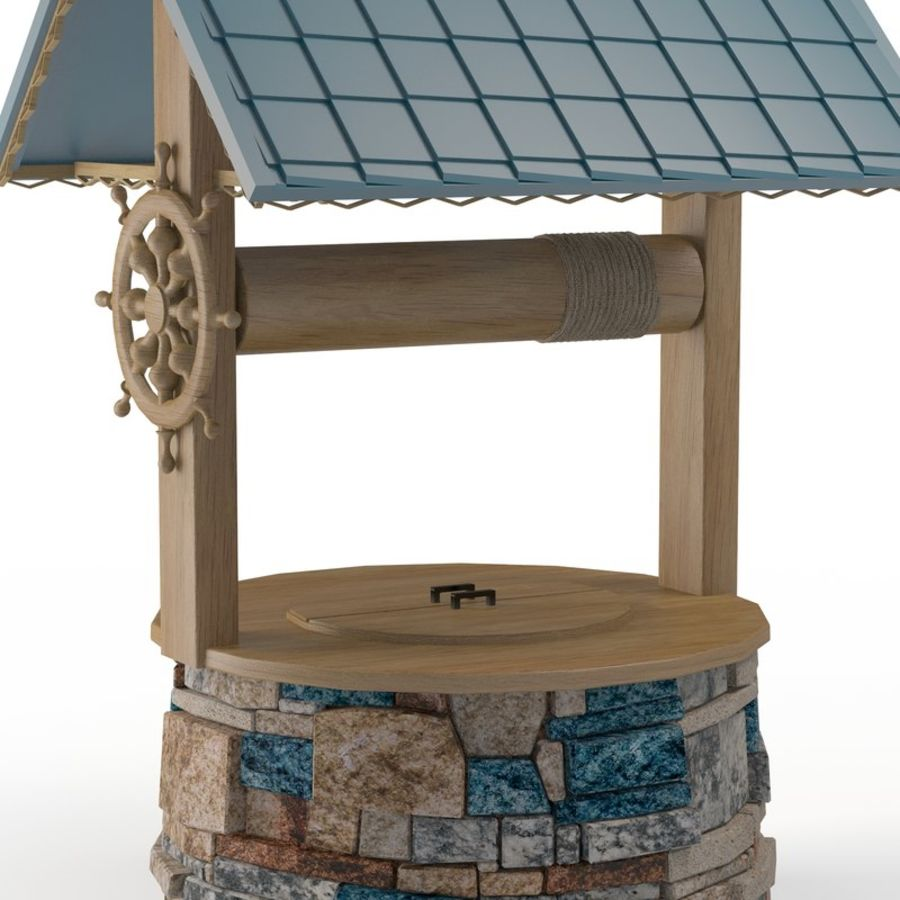 Water well magic royalty-free 3d model - Preview no. 4