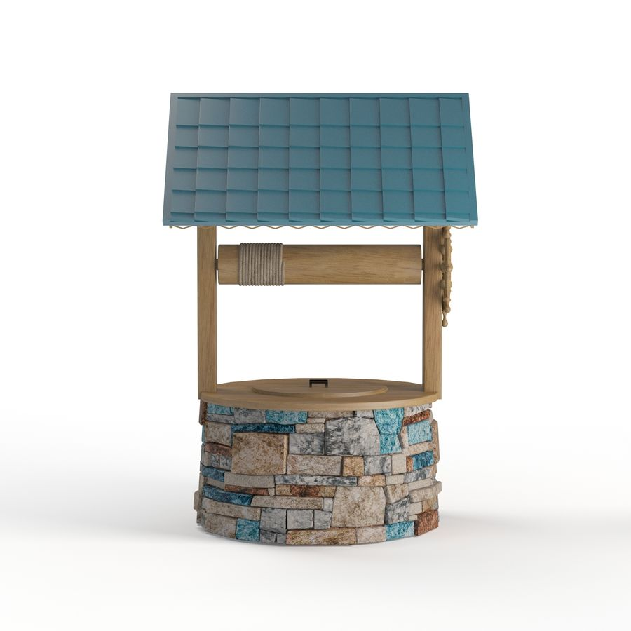 Water well magic royalty-free 3d model - Preview no. 2