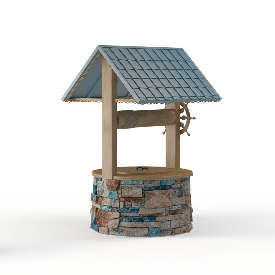 Water well magic royalty-free 3d model - Preview no. 5